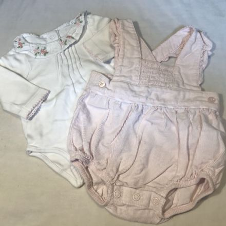0-0 Newborn Romper Set